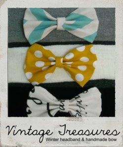 Vintage Treasures polaroid with headbands